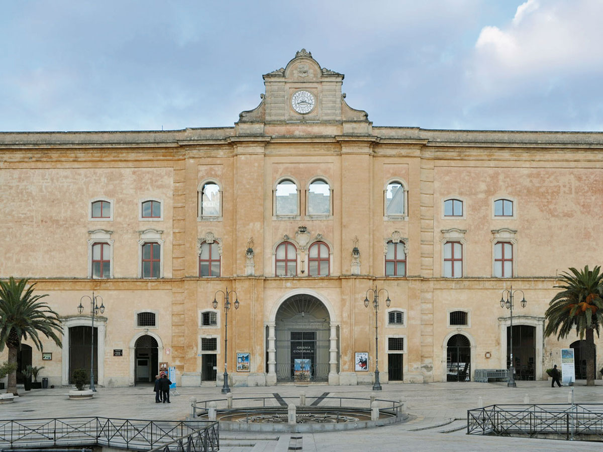 Palazzo dell'Annunziata, in the main square of Matera