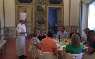 Cooking class in a noble palace in Matera