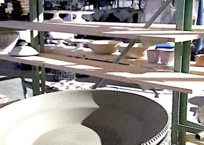 Particolari in bottega artigiana di Matera