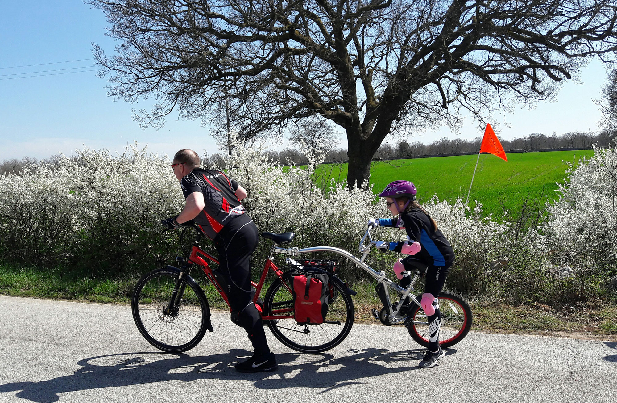 Tour in bici fino al Lago e laboratorio degli aquiloni