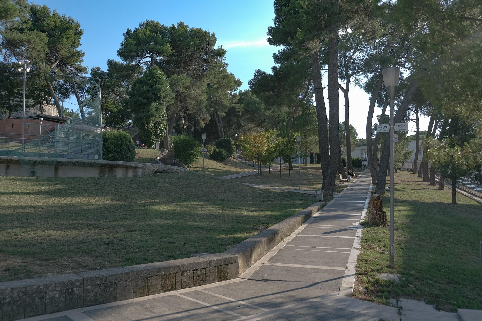 Parco Giovanni Paolo II di Matera, conosciuto come il Boschetto