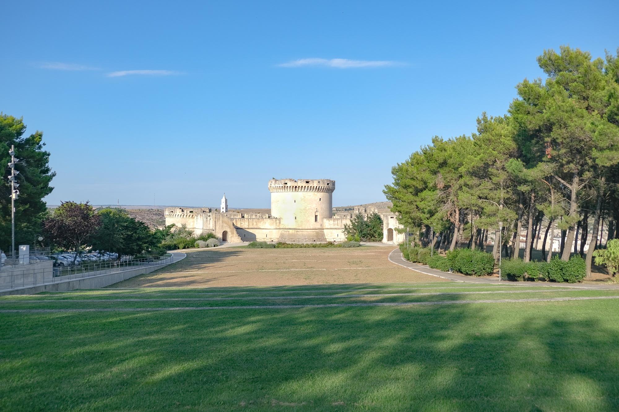 Parco del Castello di Matera - Panoramica