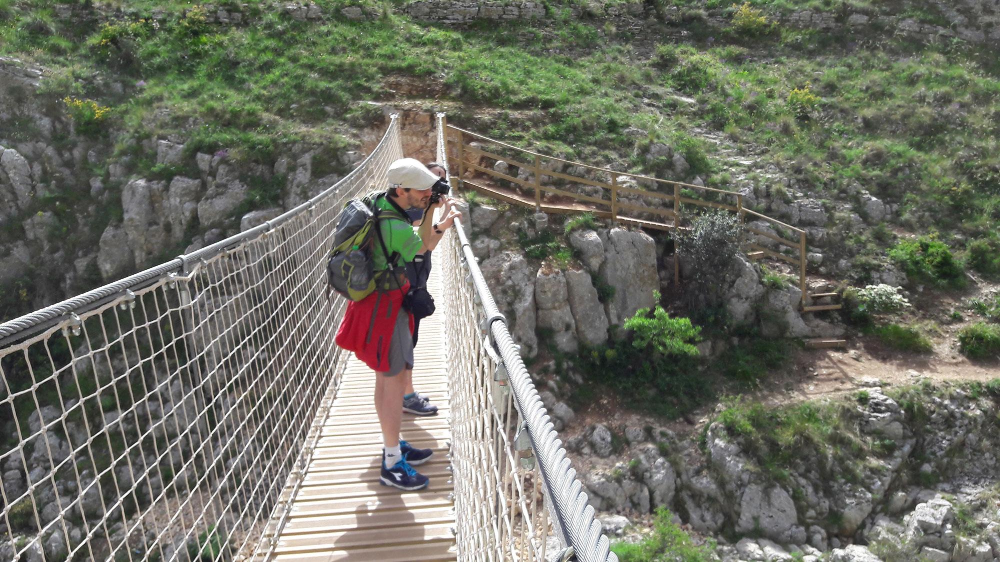 Ponte Tibetano di Matera - Escursione dai Sassi alla Murgia